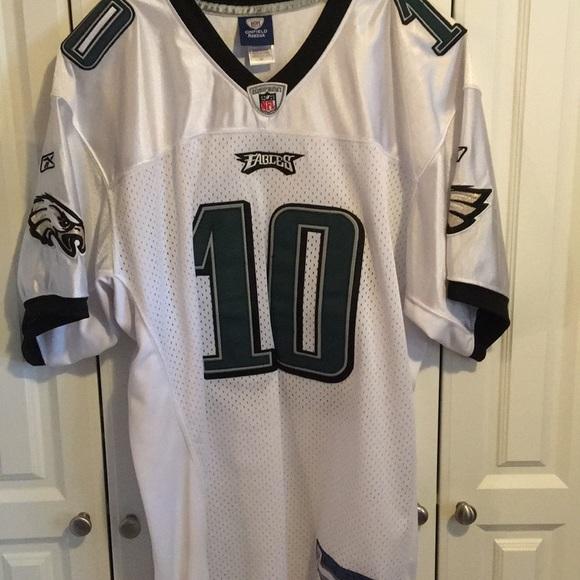 detailed look 95869 acc80 Philadelphia Eagles Jackson # 10 Jersey-54